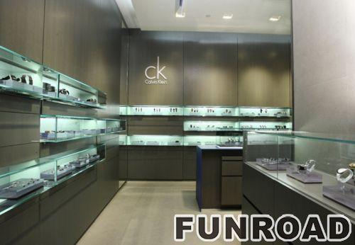 CK品牌手表展展柜效果图