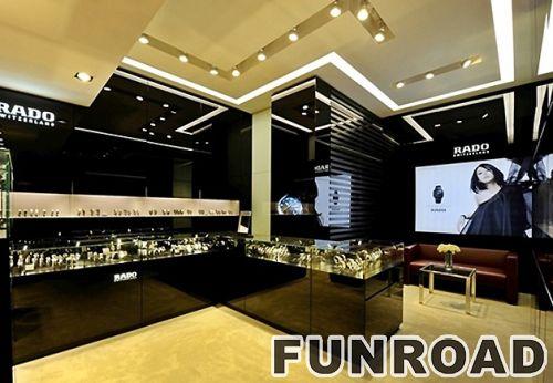 奢侈手表店展柜设计效果图