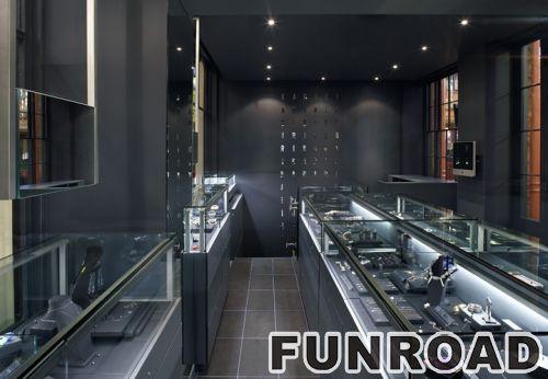 欧米茄手表零售商店设备手表展柜家具