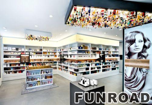专业化妆展示化妆品展柜台设计效果图