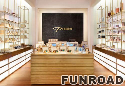 购物商场展示家具化妆品展示柜