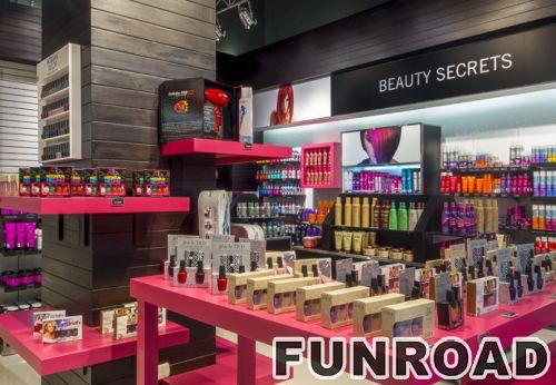 18年的经验提供了化妆品展柜的室内设计效果图