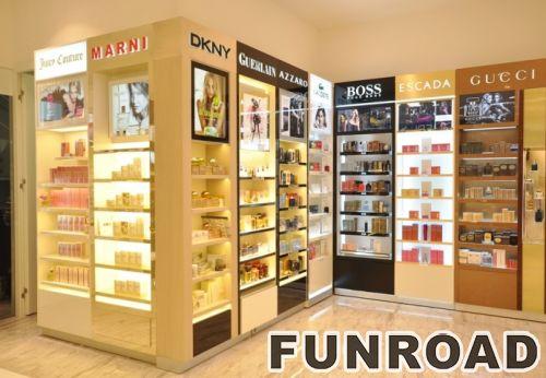商业设计商场化妆品展示柜