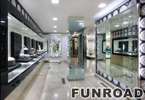 15年展柜工厂定做珠宝店不锈钢陈列柜