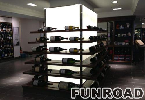 FRJS-2019101902红酒洋酒展示柜