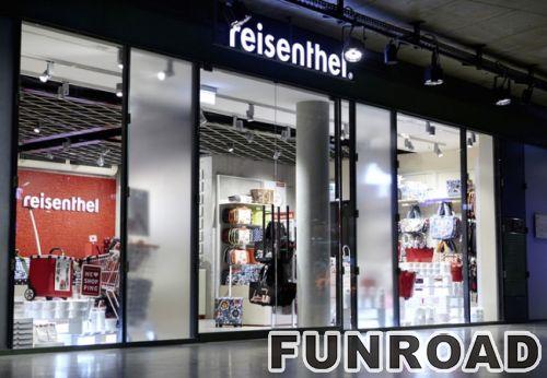 MDF展示柜/手袋零售店货架展示架