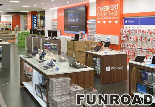 手机配件数码产品展示柜展示架制作