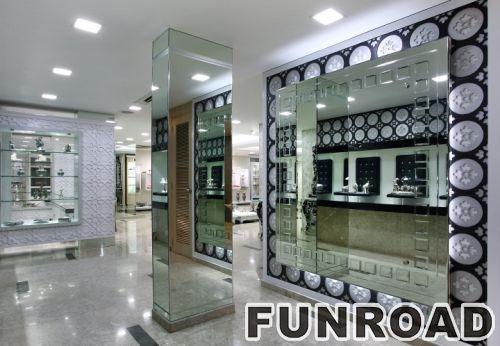 珠宝商店内部设计图像珠宝柜