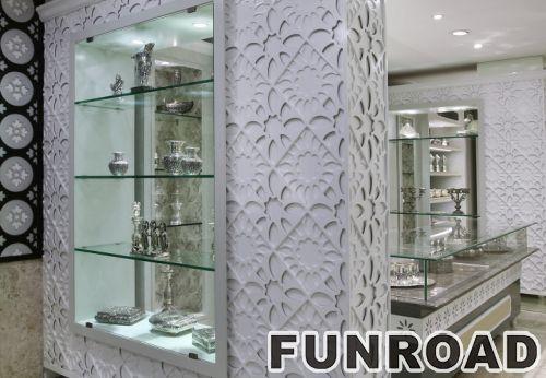 二手珠宝店展示柜台设计制作
