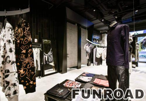 服装零售店橱窗展示设计服装店展示柜