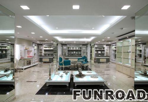 欧式风格商场珠宝柜台设计