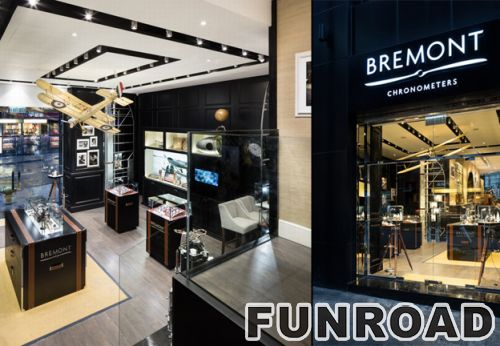 Bremont宝名店手表柜台设计制作