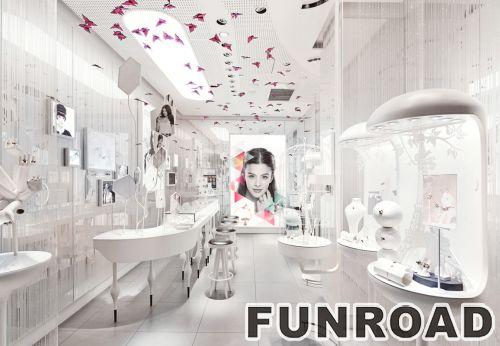 水贝钻石专卖店展示柜台设计制作