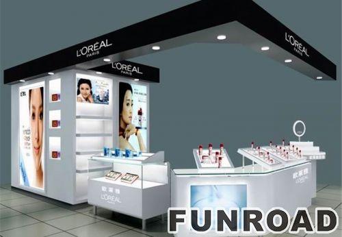 购物商场化妆台展示台的设计