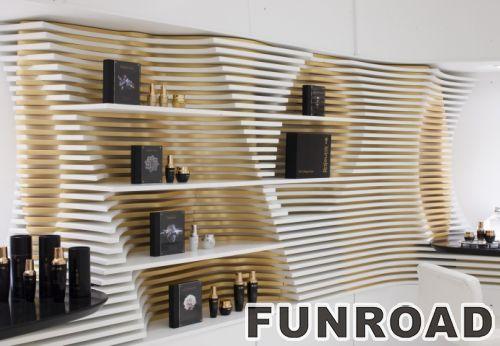 化妆品陈列架家具化妆品展柜