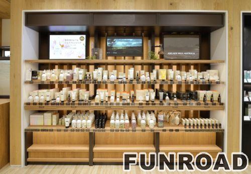 购物商场化妆台展示柜台的设计