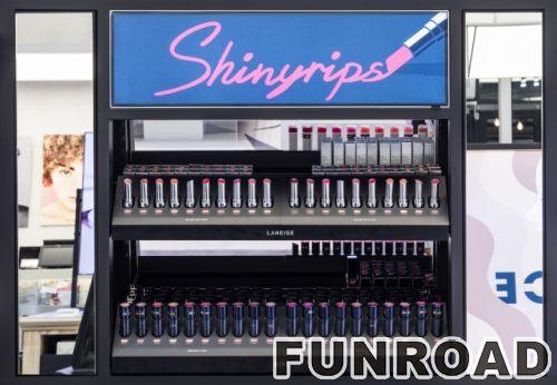 零售销售化妆品商店家具化妆品展柜