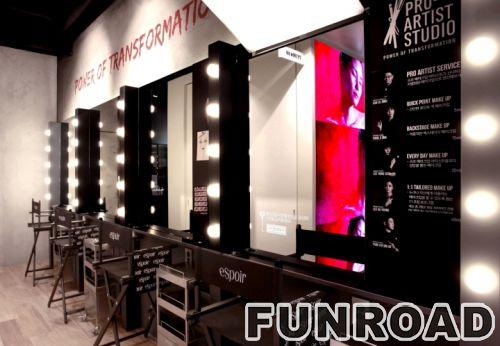 化妆品商店陈列化妆品柜台家具