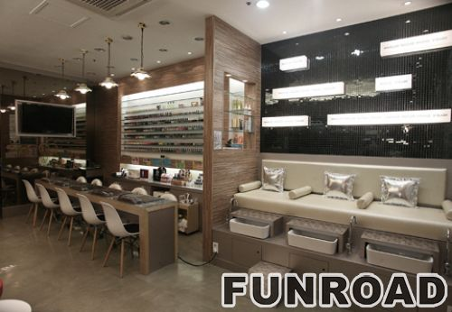 Wooden Nail Bar Furniture With Table