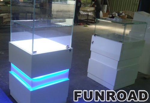 Mall furniture display jewelry shopping mall showcase kiosk with custom design