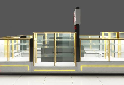钢化玻璃展示柜台