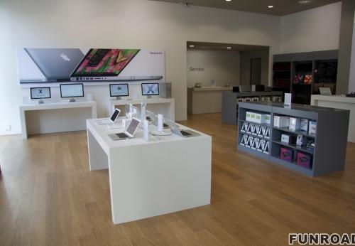 笔记本手机产品演示柜台订制