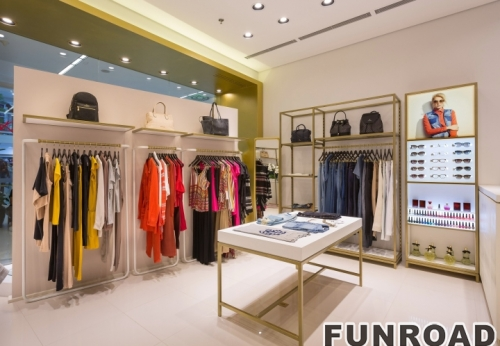 Boutique furniture for clothing shop for Clothing store interior design pictures