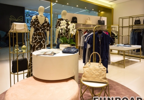 Boutique furniture for clothing shop