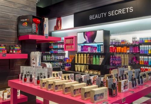 化妆品陈列柜展示柜
