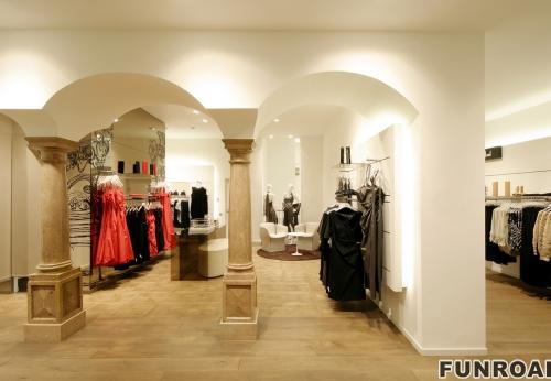 服装店高档时尚服装展示柜陈列柜设计
