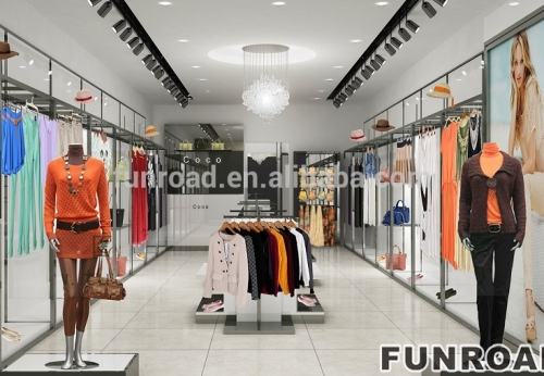 Modern Underwear And Clothing Store Interior Design With Manufacture