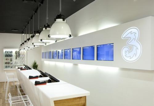 手机展示柜台商店表设计