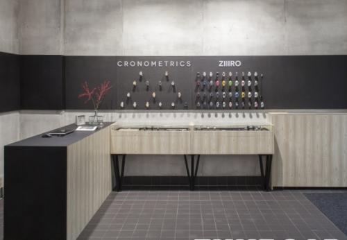 木制装饰手表陈列店购物中心室内设计效果图