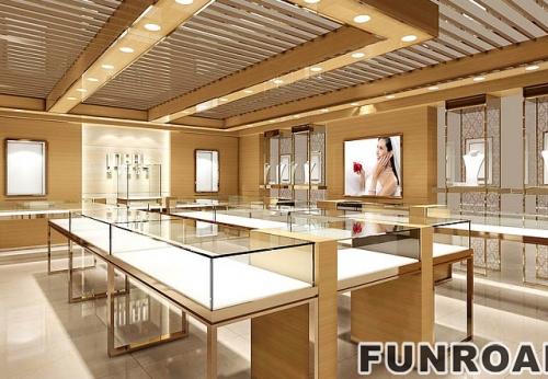 定做珠宝玻璃展示柜一般需要多少钱?