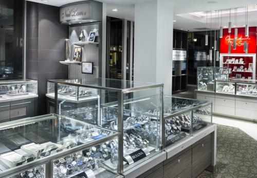 铁质珠宝展示柜