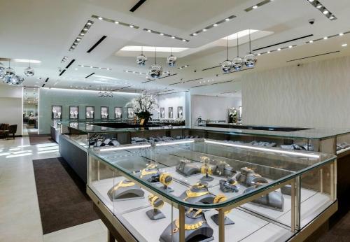 珠宝展示玻璃柜
