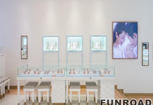 奢饰品珠宝展柜订制款展示设计效果图