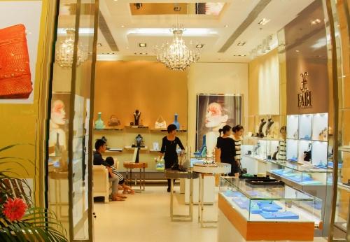 珠宝精品连锁店设计