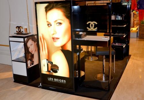 化妆品展示亭