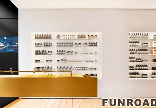波兰亚克力商店化妆品展示柜香水展示柜化妆品展柜