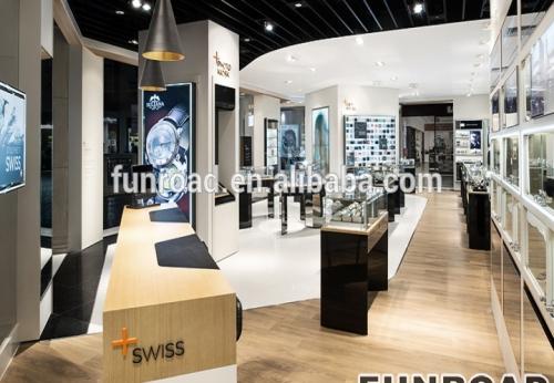顶级品牌手表展厅展柜手表店装修