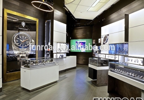 高端品牌手表展柜手表柜台展示柜