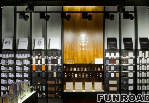 批发定制化妆品展示柜店铺室内设计展示柜