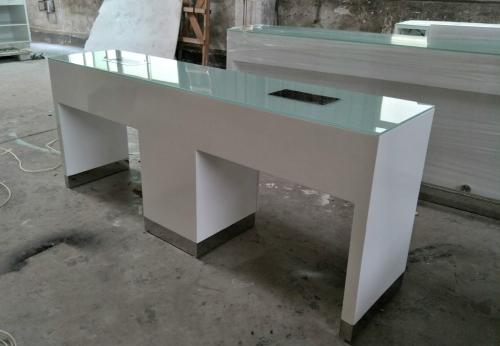 双人位美甲桌设计