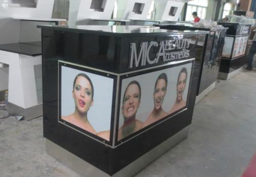化妆品亭子设计