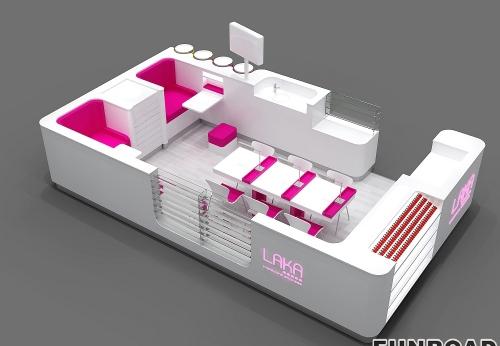 LAKA美容美甲店展柜,为女士服务