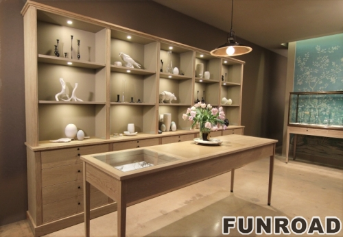 High End Jewelry Furniture Display Jewellery Store Interior Design