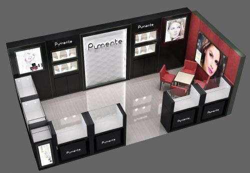 现代珠宝商店柜台设计