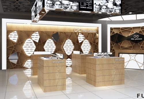 展示你自己的优质Rayban太阳镜品牌店展柜设计
