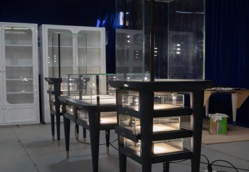 定制珠宝陈列展示柜珠宝商店设计方案设计